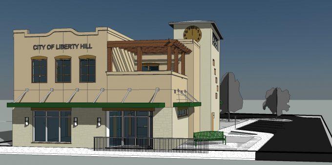 TX15-005 (Liberty Hill City Admin Office) - rendering