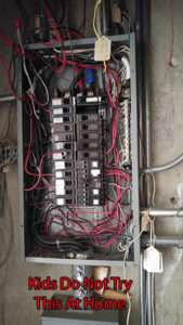 Electrical Engineering Bad Electric Panel