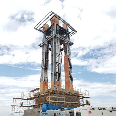 Architecture Engineering Clock Tower Aurora Highlands