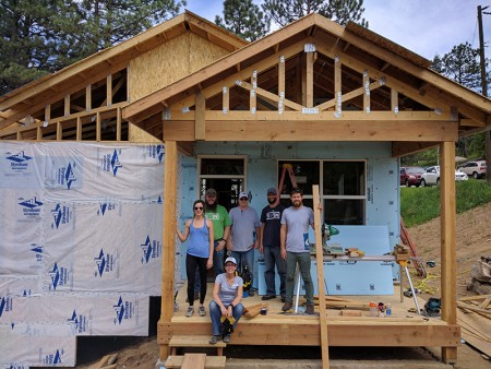 EVstudio Habitat for Humanity Build