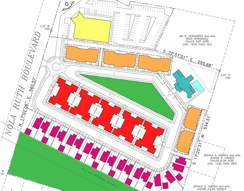 Planning Architecture Residential Development Master Plan