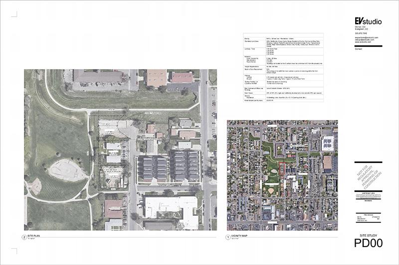Planning Architecture Condo Site Study