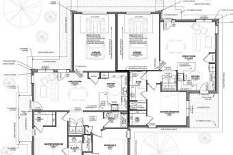 Architecture Duplex Texas Floor Plan