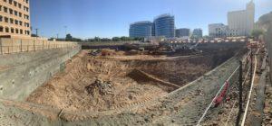Blount Contracting Underground Parking Structure