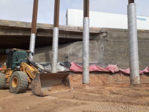 Shoring Central70 Soil Retention