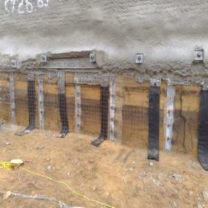 Shoring Soil Retention
