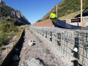Shoring Soil Retention Provo Canyon Utah