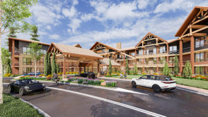 Architecture Multifamily Mountain Render