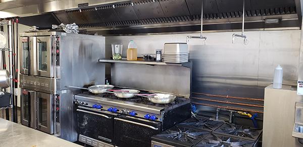 Crock Spot Restaurant Kitchen