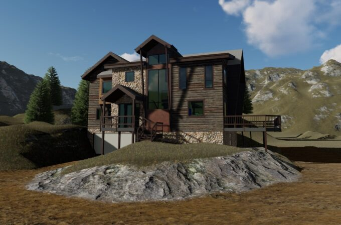 Smith Residence Project Update - Proposed Rendering
